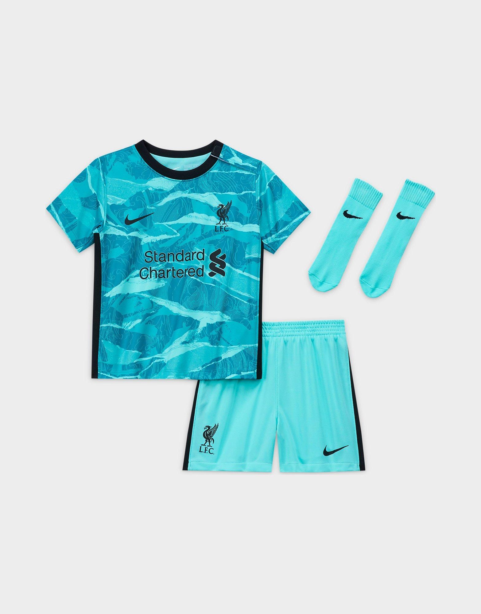 Nike conjunto Liverpool FC 202021 2. ª equipación para bebé | JD Sports