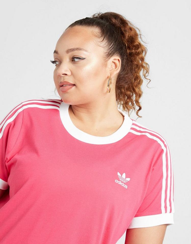 Shoppa adidas Originals 3 Stripes California Plus Size T