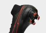 Nike Black/Chile Red Mercurial Superfly Elite FG