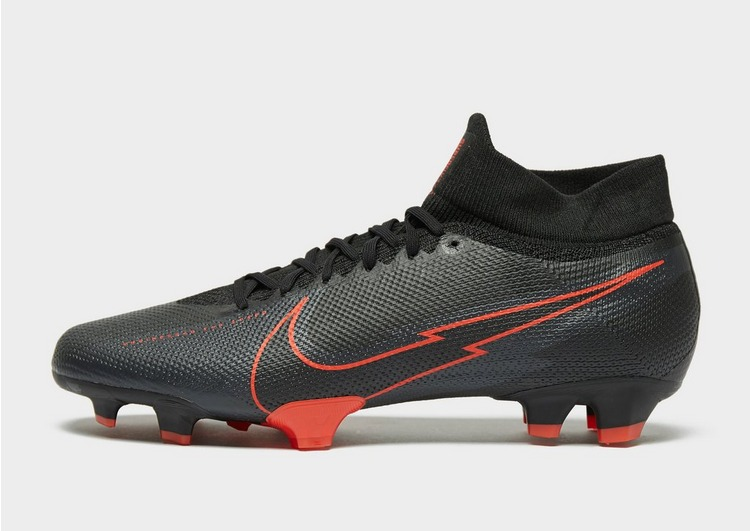 Nike Black/Chile Red Mercurial Superfly Pro FG