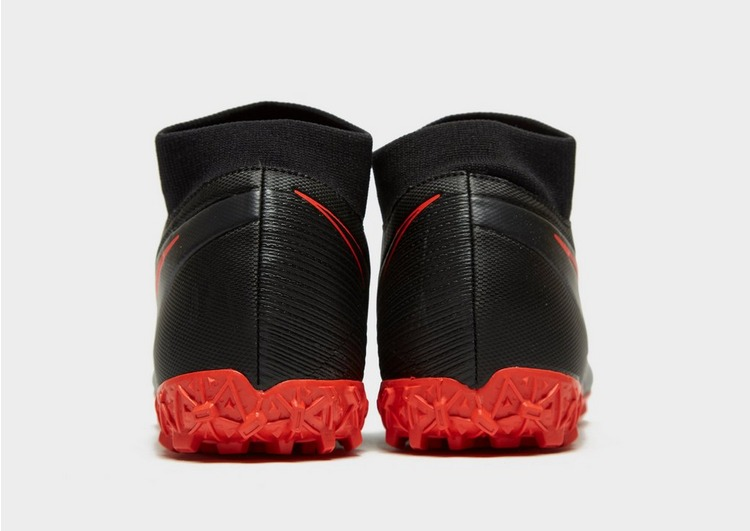 Nike Black/Chile Red Mercurial Superfly Academy TF