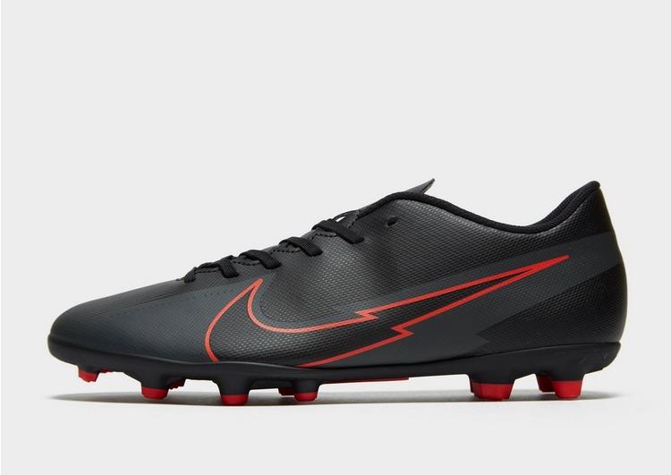 Nike Black/Chile Red Mercurial Vapor Club FG