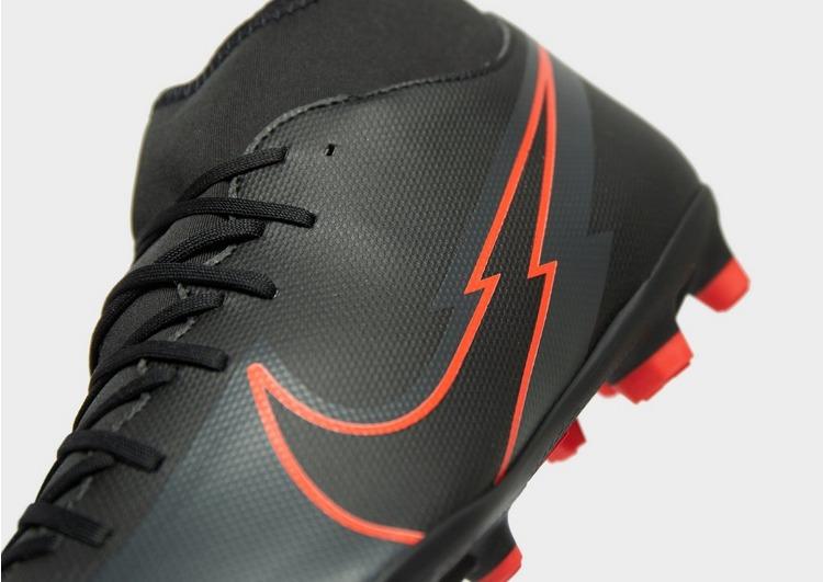 Nike Black/Chile Red Mercurial Superfly Club DF FG
