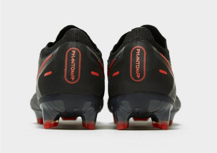 Nike Black/Chile Red Phantom GT Elite FG