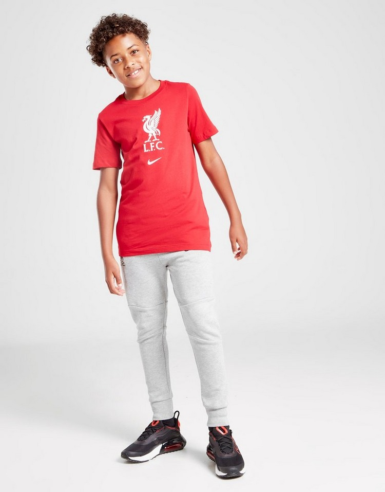 Nike Liverpool FC Crest Short Sleeve T-Shirt Junior