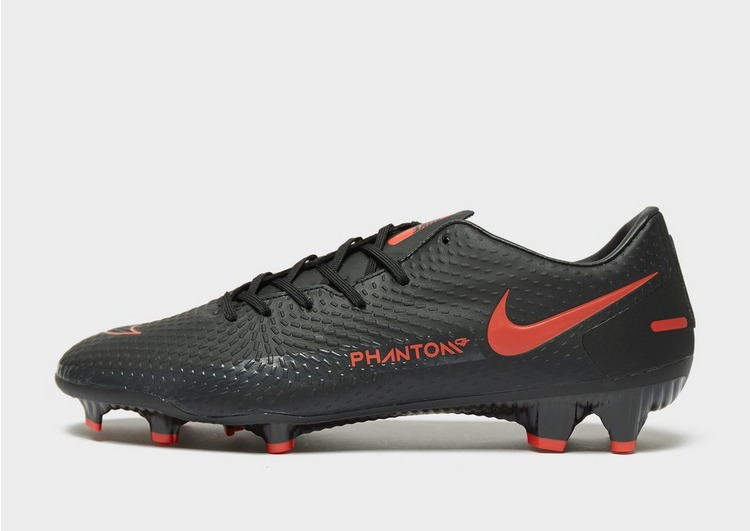 Nike Black/Chile Red Phantom GT Academy FG