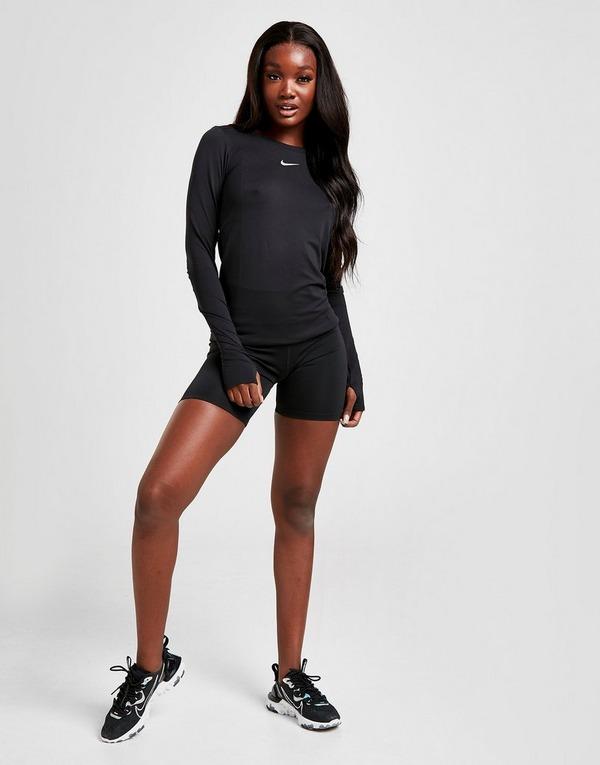 Acheter Black Nike Short Nike One 18 cm pour Femme