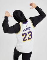 Nike NBA Los Angeles Lakers James #23 Swingman Jersey