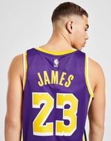 Jordan NBA Los Angeles Lakers James #23 Swingman Jersey