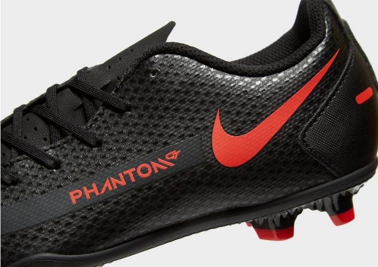 Nike Black/Chile Red Phantom GT Club FG Children
