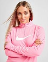 Nike Top Running Repeat Swoosh 1/4 Zip Femme