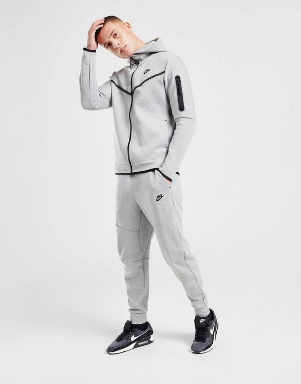 Nike Pantalon De Chandal Tech En Gris Jd Sports