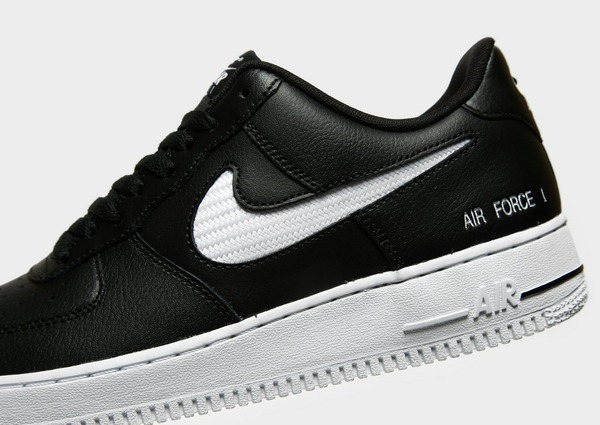 Koop Zwart Nike Air Force 1 Low Mesh