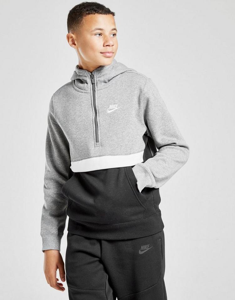 Nike Club 1/2 Zip Hoodie Junior
