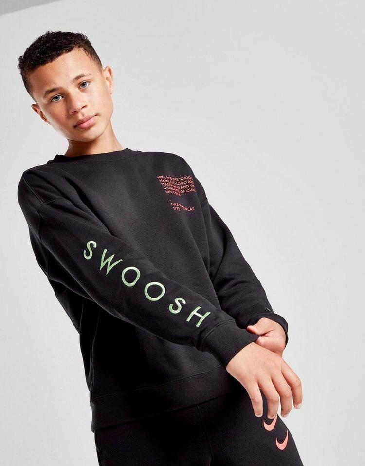 Nike sudadera Swoosh júnior