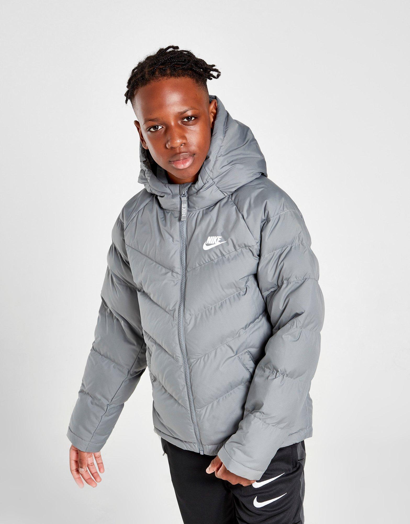 Tiranía mariposa Vegetales  White Nike Sportswear Padded Jacket Junior | JD Sports