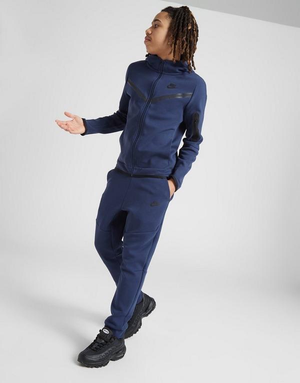 Buy Blue Nike Tech Fleece Track Pants Junior Jd Sports