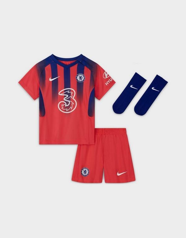 Buy Orange Nike Chelsea Fc 2020 21 Third Kit Infant Jd Sports