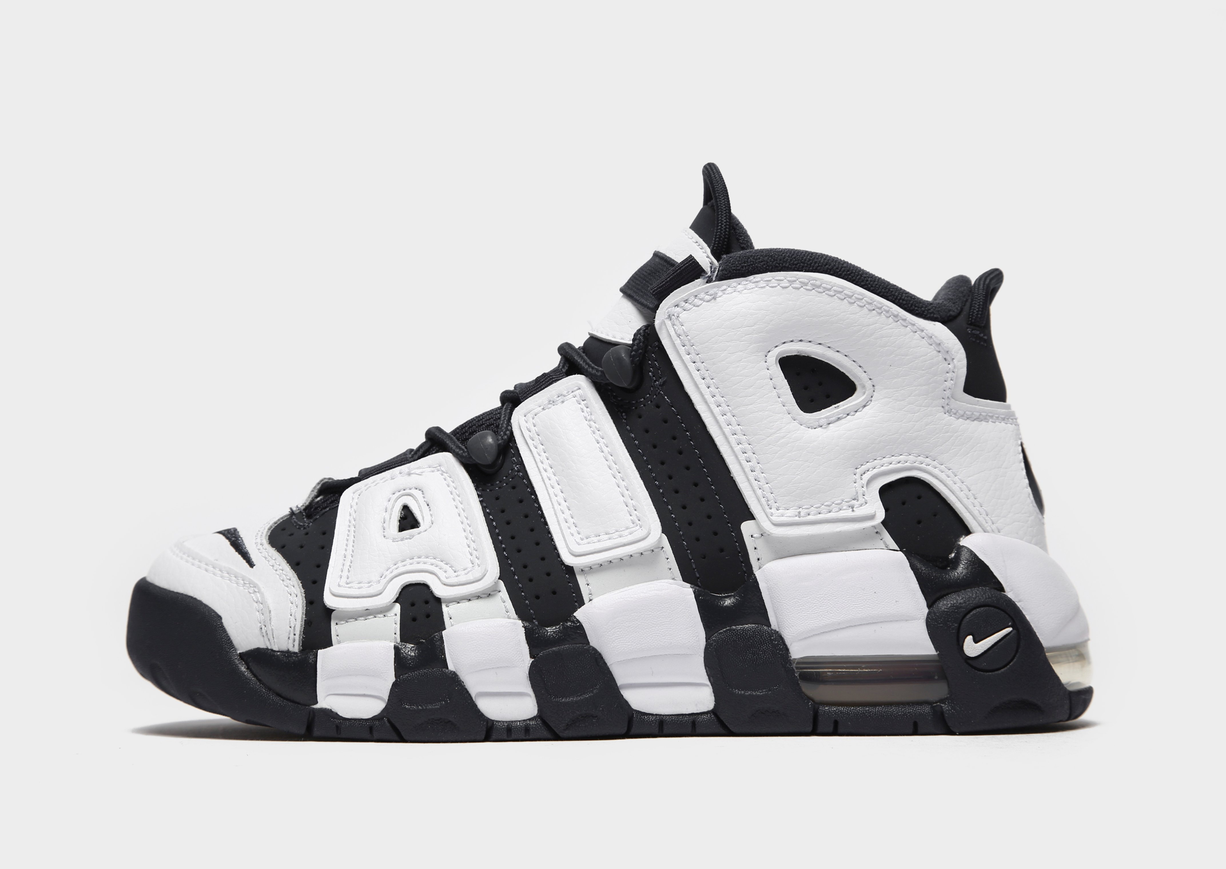 White Nike Air More Uptempo 96 Junior