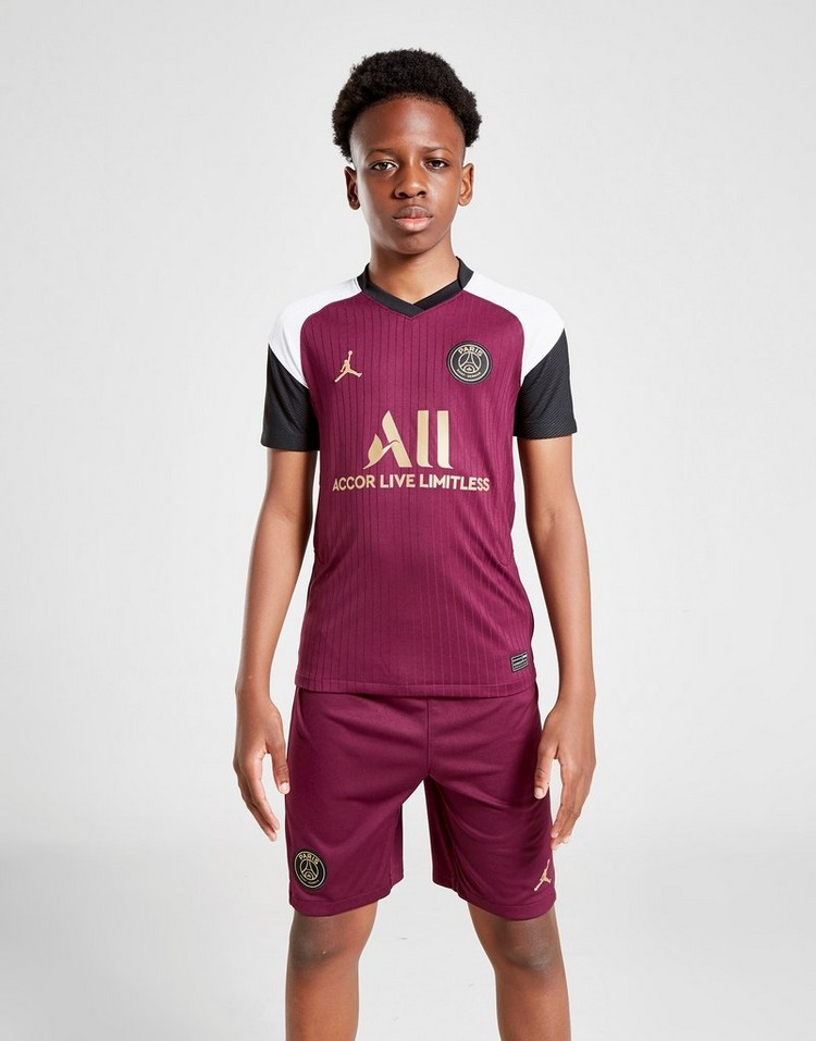 Jordan Paris Saint Germain 2020/21 Third Shirt Junior