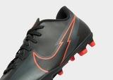 Nike Black/Chile Red Mercurial Club FG Junior