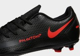 Nike Black/Chile Red Phantom GT Club FG Junior