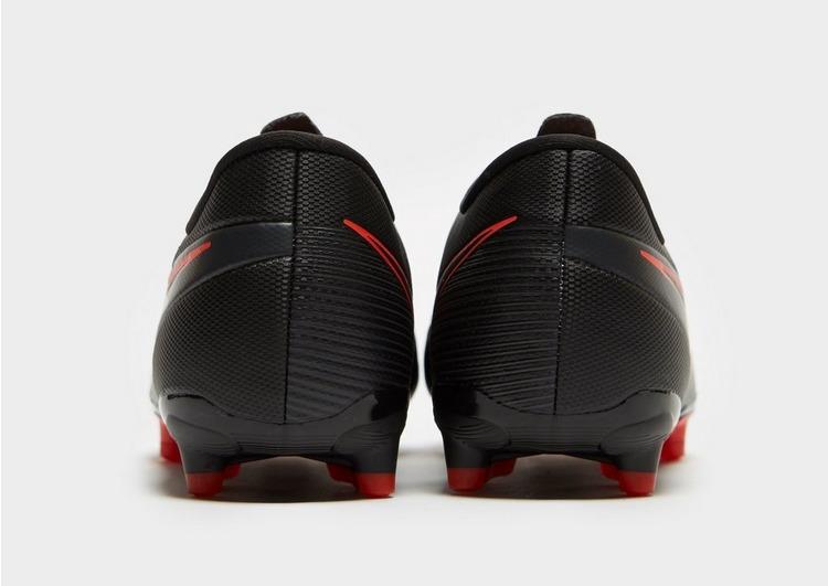 Nike Black/Chile Red Mercurial Vapor Academy FG Junior