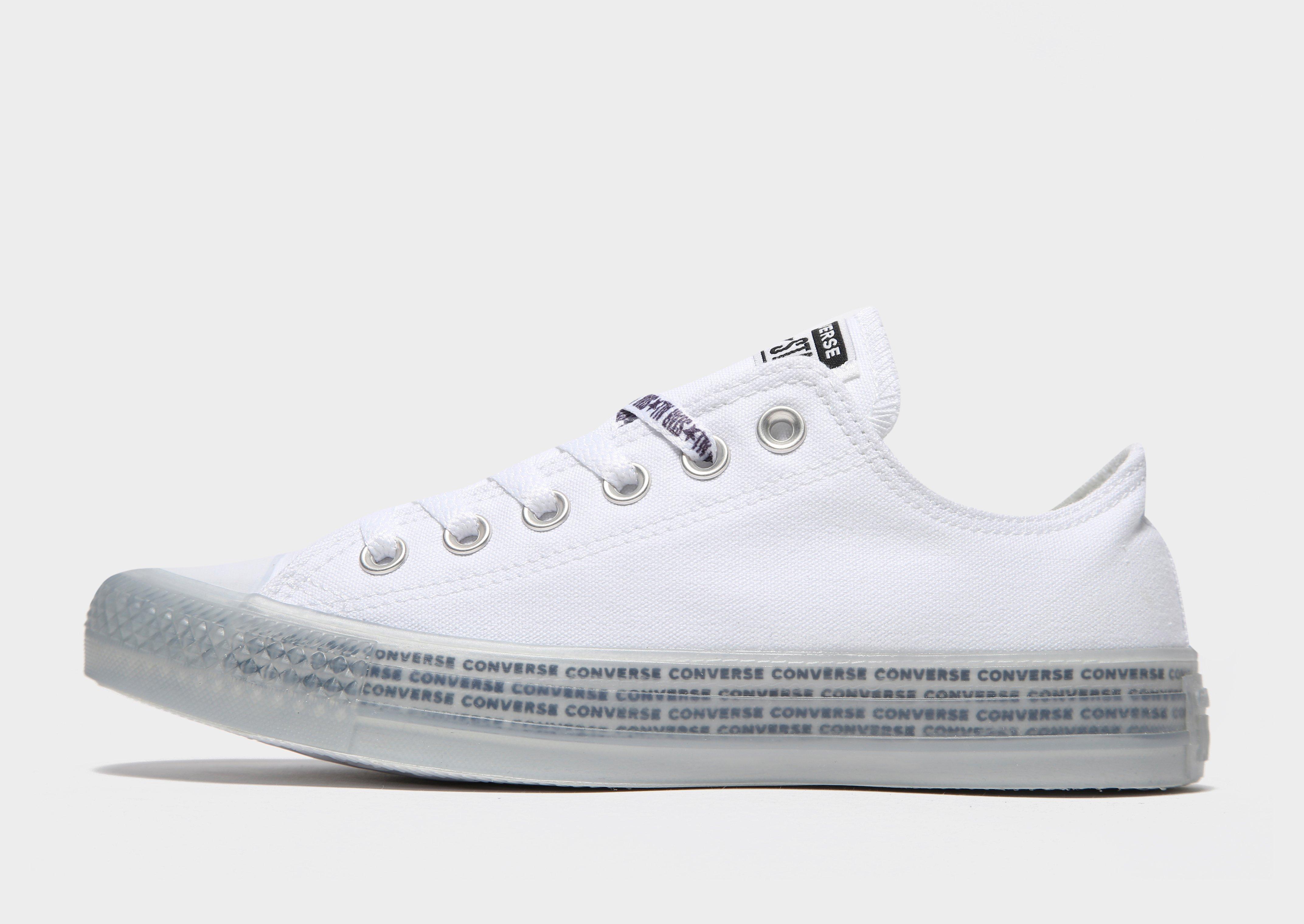 Zumbido A bordo facil de manejar  Acheter Blanc Converse Baskets Chuck Taylor All Star Ox Femme