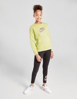 Nike Girls' Animal Infil Crew Sweatshirt Junior