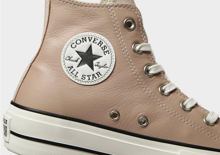 Converse All Star Leather Lift Hi Platform para mujer