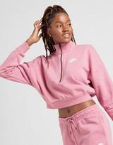 Nike Essential Crop 1/4 Zip Sweatshirt