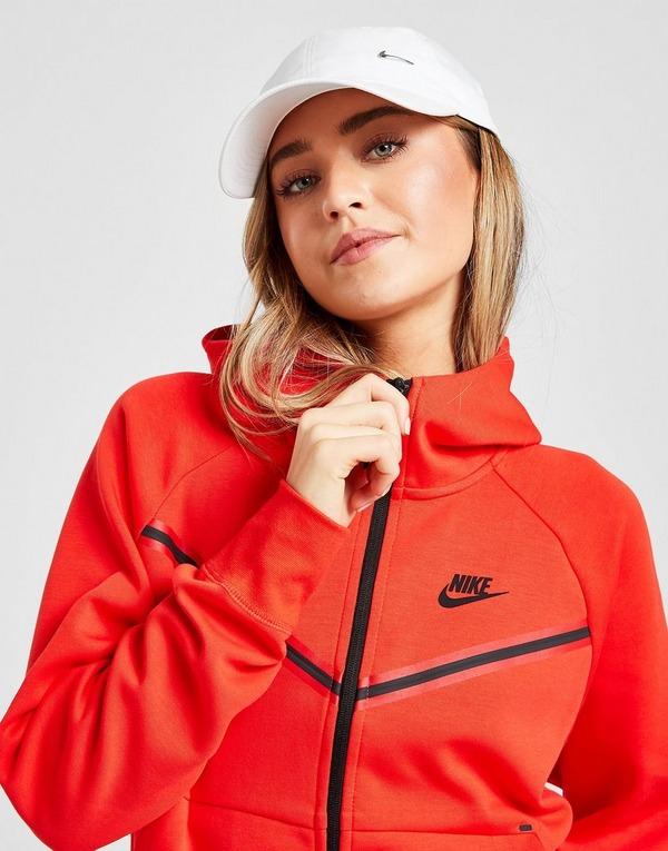 Buy Red Nike Tech Fleece Hoodie Jd Sports
