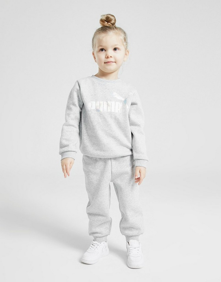 Puma Girls' Core Crew Tracksuit Infant