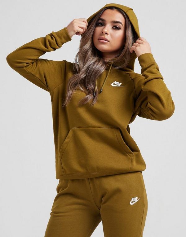 Osta Nike Sportswear Essential Overhead Hoodie Women's Vihreä