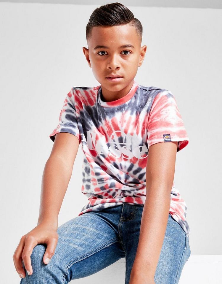 Ellesse Tie Dye All Over Print T-Shirt Junior