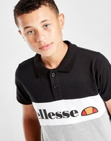 Ellesse Colour Block Polo Shirt Junior