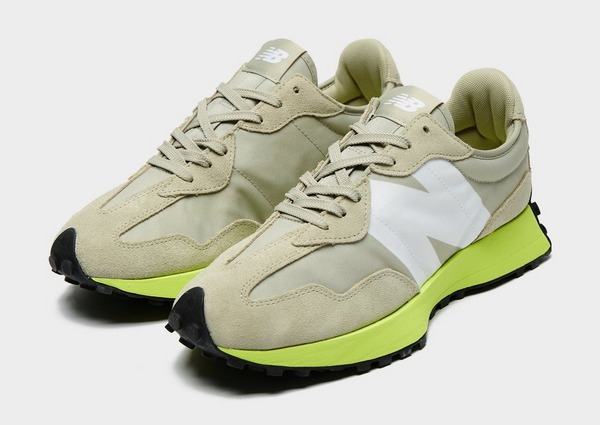 new balance trainers size 3 yellow blue
