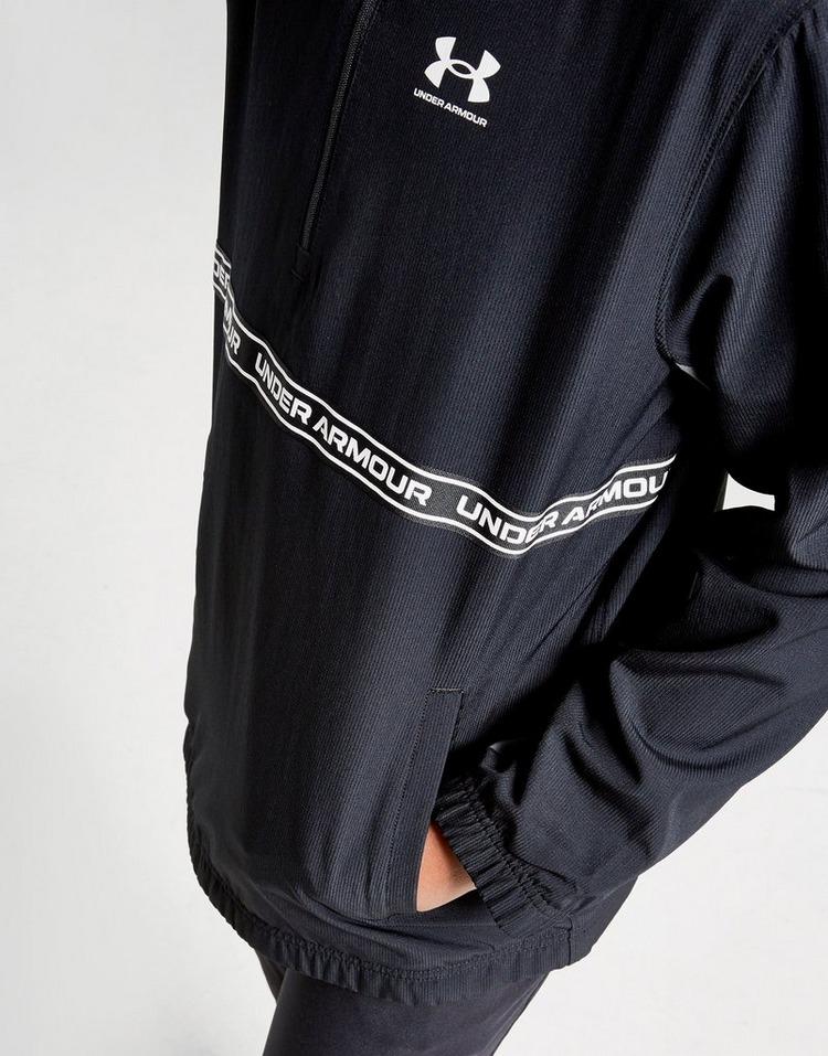 Under Armour Tape Woven 1/2 Zip Jacket Junior
