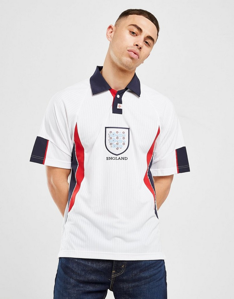 Score Draw Maillot Domicile Angleterre 98 Coupe du Monde Homme