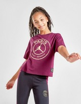 Jordan Girls' Paris Saint Germain Logo T-Shirt Junior