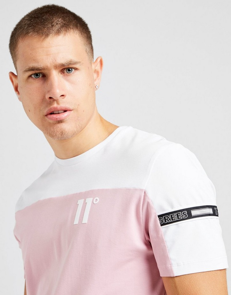 11 Degrees Panel Tape T-Shirt