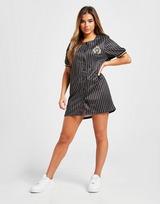 SikSilk Pinstripe Baseball Dress