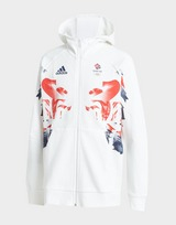 adidas Team GB Olympics Lion Hoodie Junior