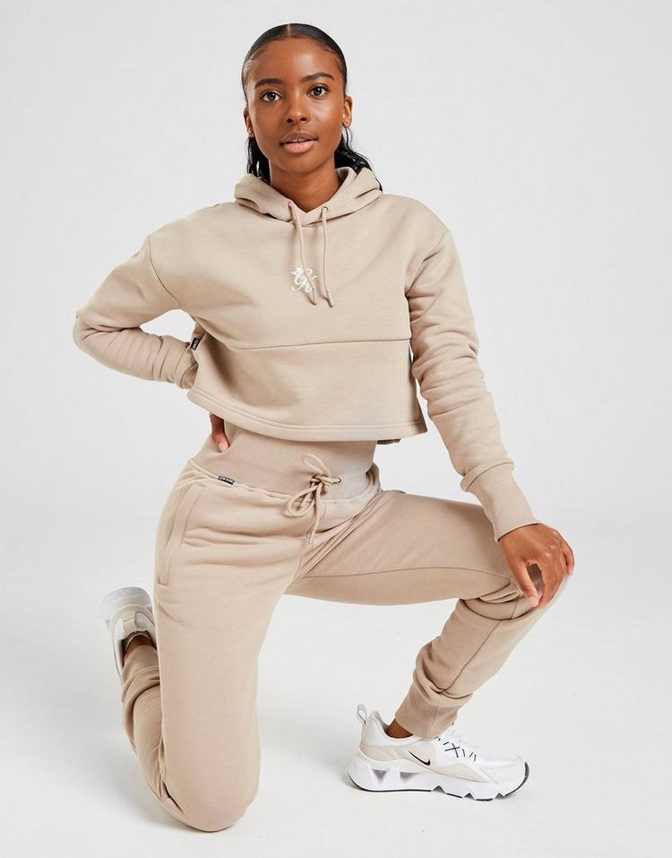 Gym King Sky Crop Hoodie Women's