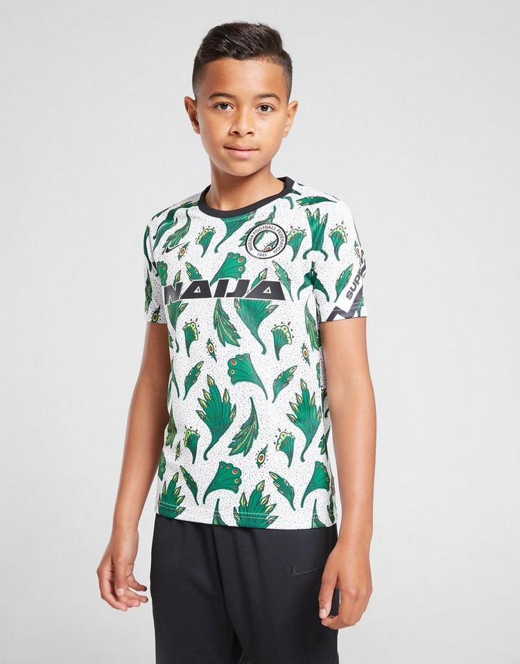 Nike Nigeria Pre Match Shirt Junior