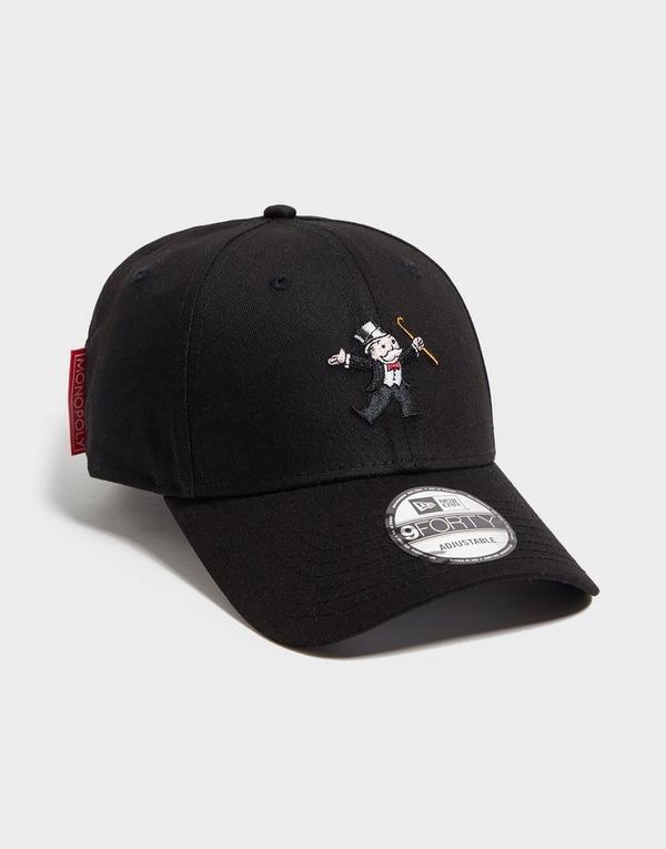 Koop Zwart New Era 9FORTY Monopoly Cap | JD Sports