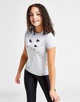 Under Armour Girls' Tech Large Logo T-Shirt Junior
