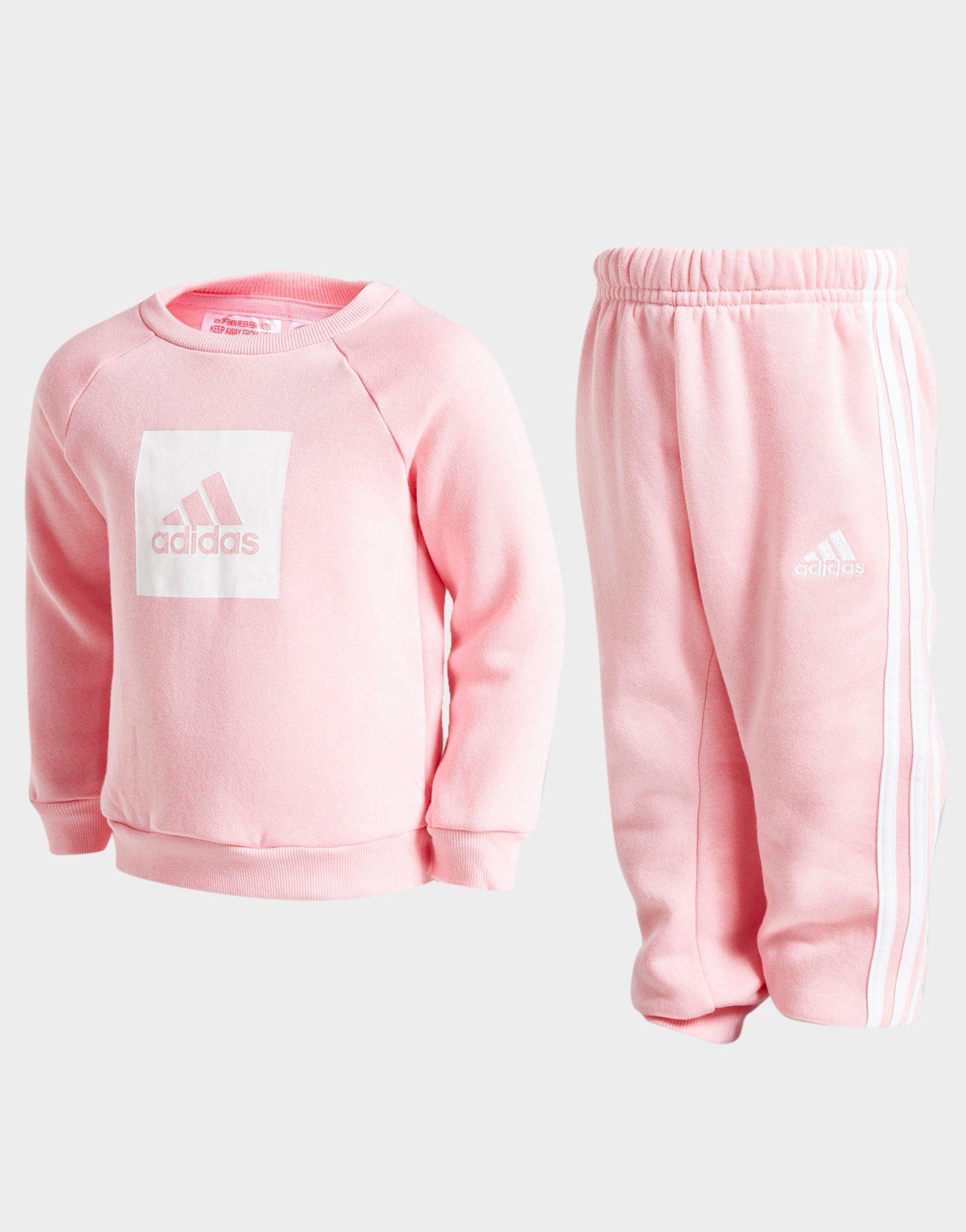 Acheter Pink adidas Survêtement Fille Badge