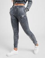 11 Degrees Pantalon de survêtement Acid Wash Femme