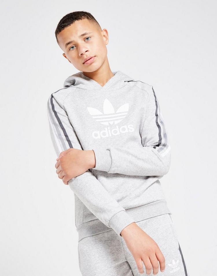 adidas Originals Multi 3-Stripes Overhead Hoodie Junior